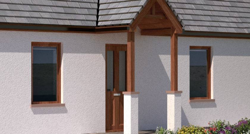Front Door Portico Kits Kit Traditional