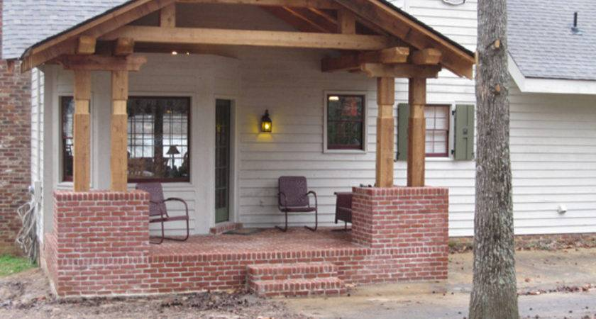 Front Elevation Can Altered Porch