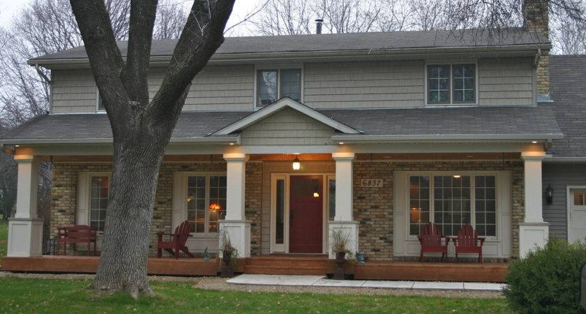 Front Porch Addition Add Character