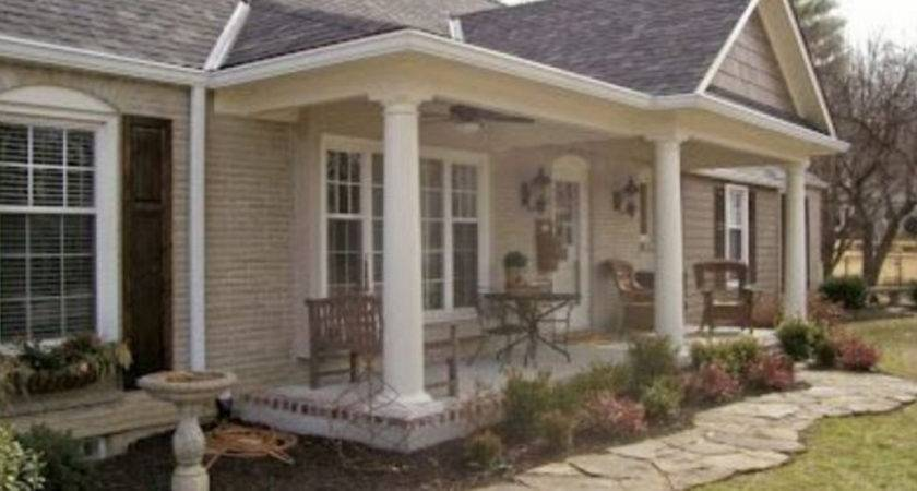 Front Porch Addition Elevation Can
