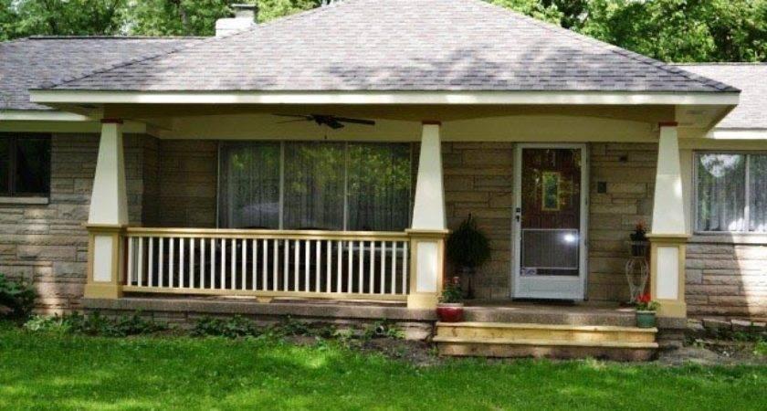Front Porch Addition Greenwood Indiana Gettum