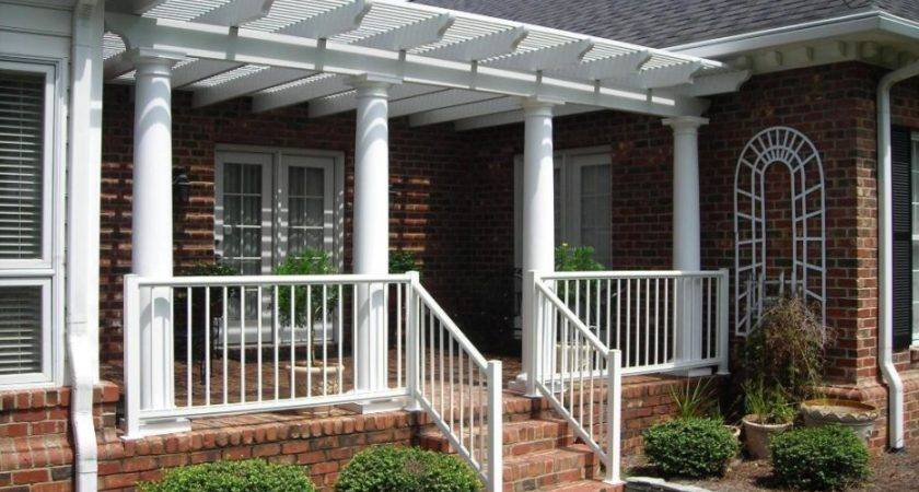 Front Porch Awesome Design Idea Round