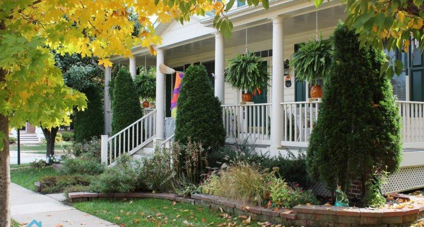 Front Porch Beautiful Landscaping Ideas