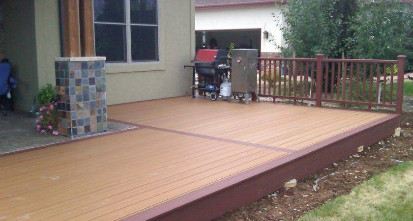 Front Porch Decking Material