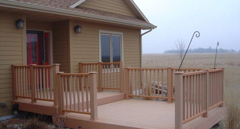 Front Porch Decks Materials Doherty House Durable