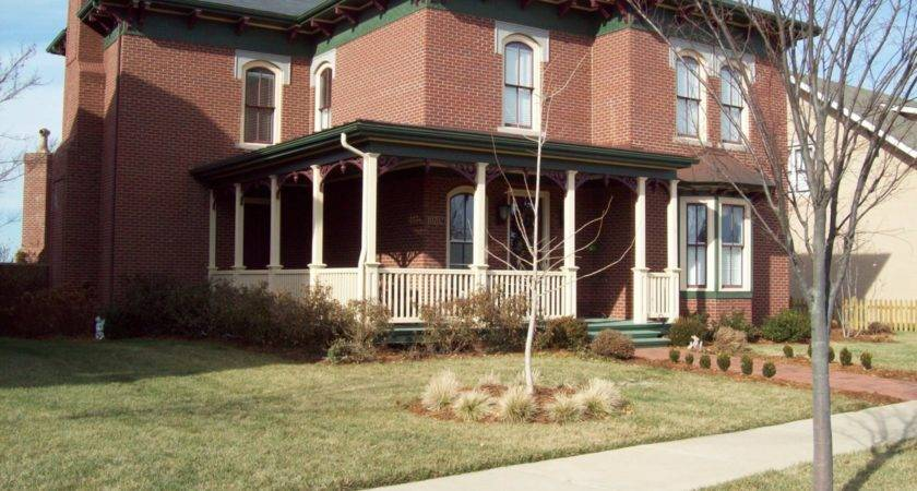 Front Porch Designs Brick Homes White