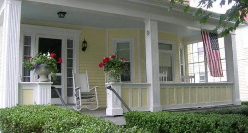 Front Porch Designs Casual Cottage