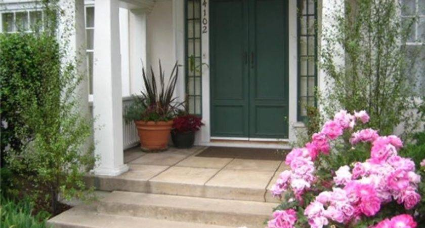 Front Porch Landscaping Landscaped