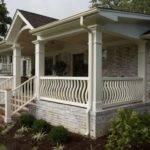 Front Porch Plan Single Level House Ideas