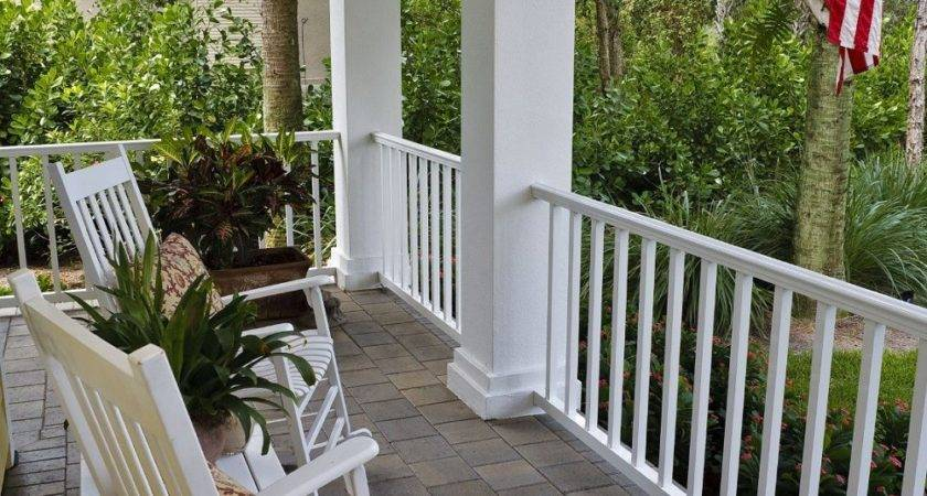 Front Porch Railing Ideas Karenefoley Chimney