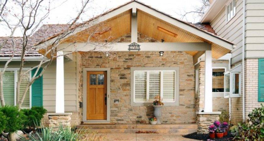 Front Porch Roof Design Stunning Open Gable