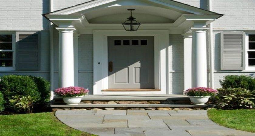Front Stoop Ideas Door Entryway