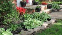 Front Yard Flower Bed Ideas Photograph Transfor