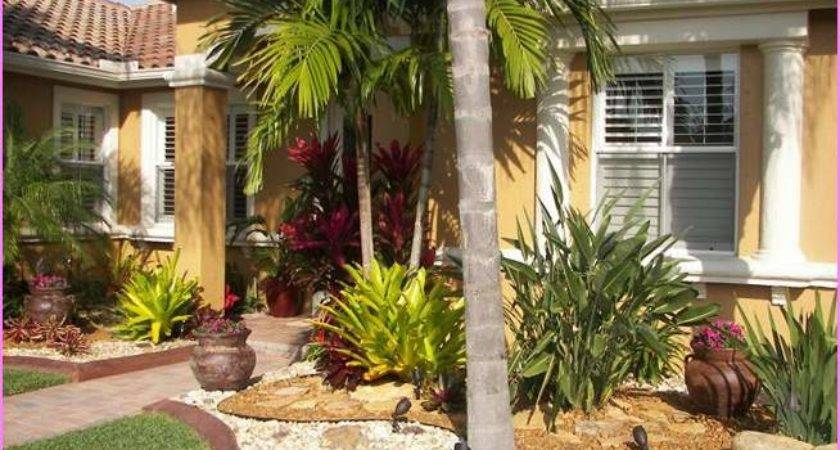 Front Yard Landscaping Ideas Florida House Decor