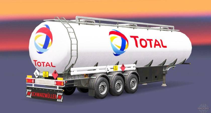 Fuel Semi Trailer Total Euro Truck Simulator