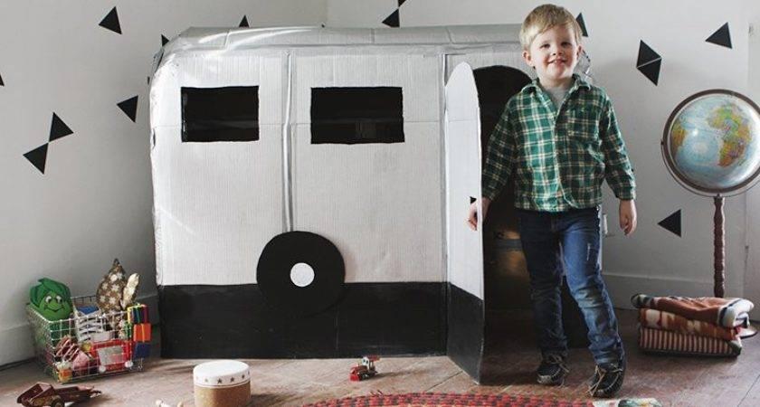 Fun Way Recycle Cardboard Box Diys Kids