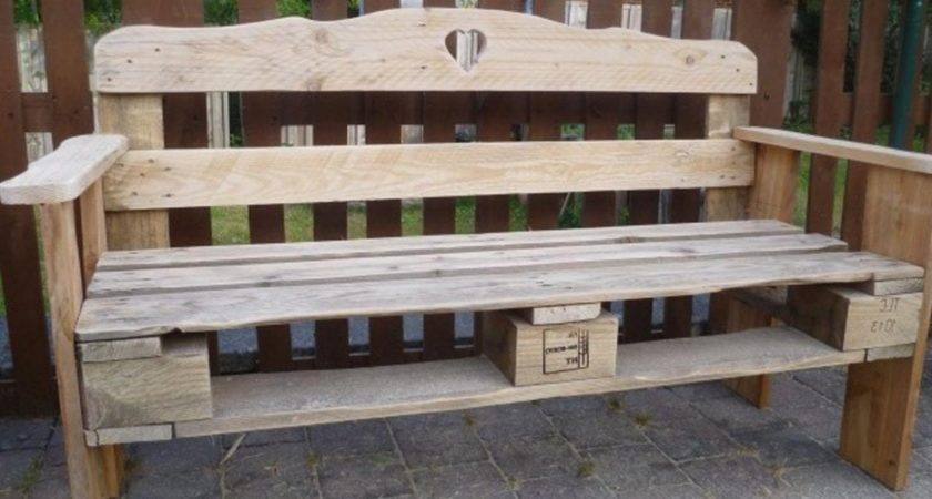 Furniture Made Out Pallets Sturdy Outdoor