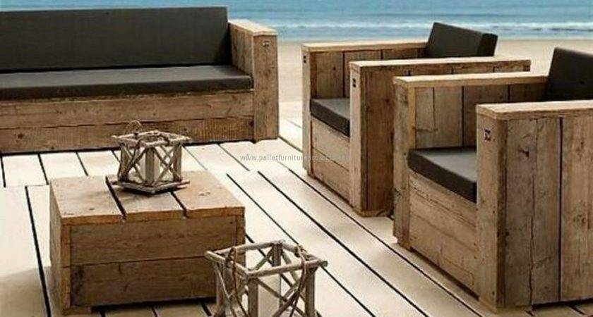 Furniture Made Recycled Wooden Pallets Pallet