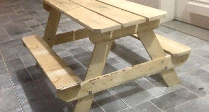 Furniture Made Wood Pallets Design Decoration