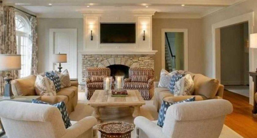 Furniture Placement Ideas Rectangular Living Room