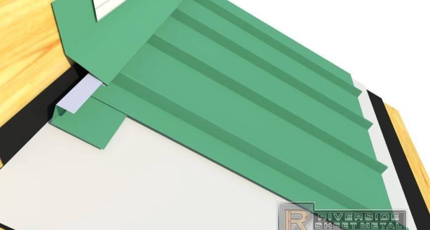 Gable Flashing Metal Roof