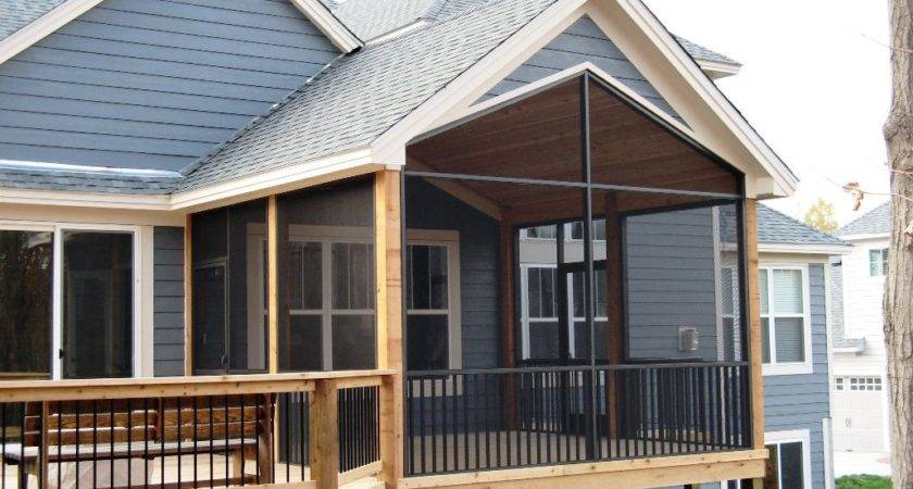 Gable Roof Porch Most Popular