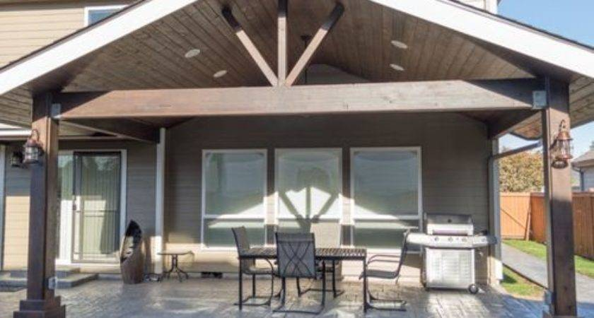 Gabled Patio Cover Design Ideas Remodel Houzz