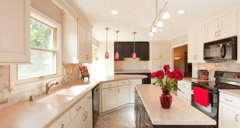 Galley Kitchen Ideas Cream Color Schemes Lowes