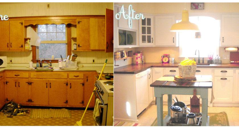 Galley Kitchen Renovation Before After