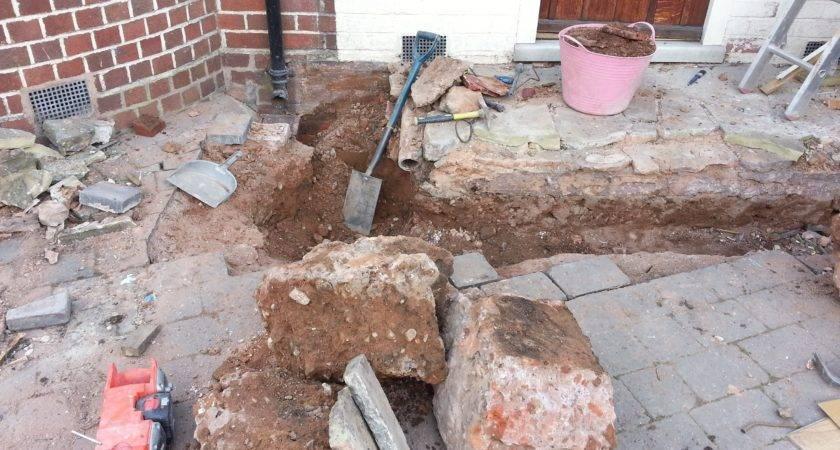 Garage Conversion New Porch Diy Extension