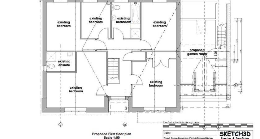 Garage Conversion Plan