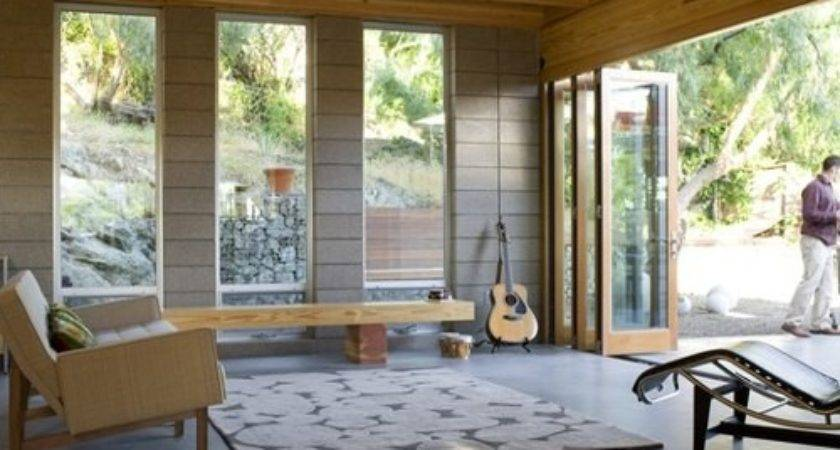 Garage Converted Into Sunroom Houzz