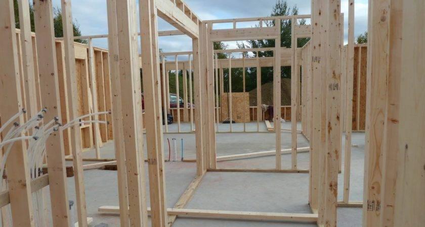 Garage Rebar Interior Wall Framing Radiant Heat Quadomated