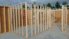 Garage Rebar Interior Wall Framing Radiant Heat Quadomated