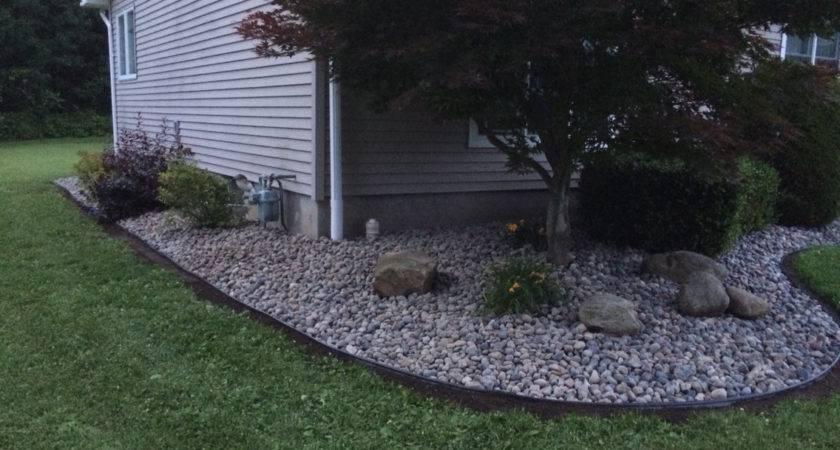 Garden Design Landscape Mulch Simple