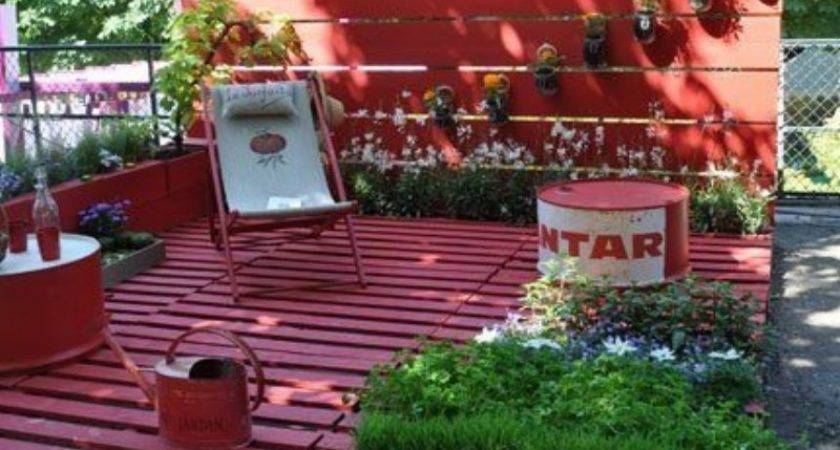 Garden Furniture Made Pallets Pallet Ideas