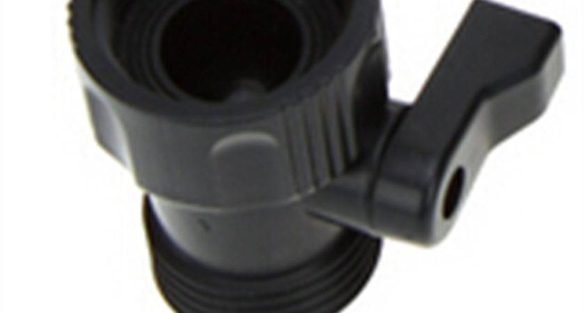 Garden Hose Plastic Shut Off Valve New Orbit