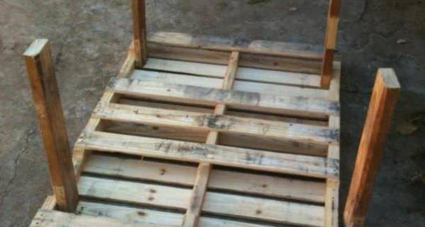Garden Pallet Table Pallets