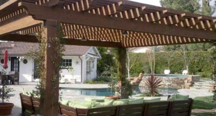 Garten Designideen Pergola Holz Aequivalere