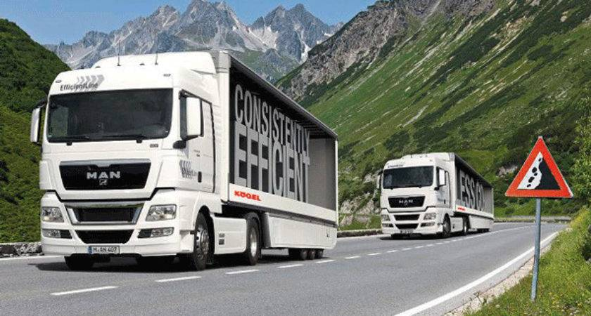 Gel Joins Man Consistently Efficient Tour Truck