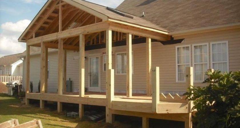 Get Best Porch Roof Framing Design Bistrodre