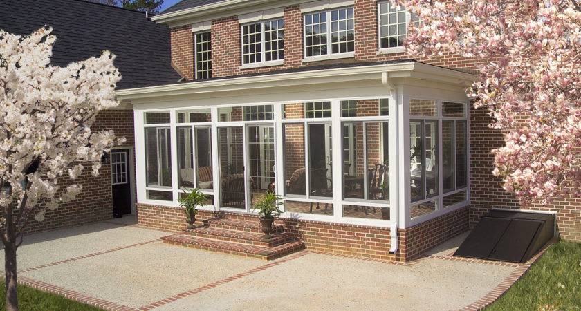 Glass Enclosed Porch Kits Chic Decorations