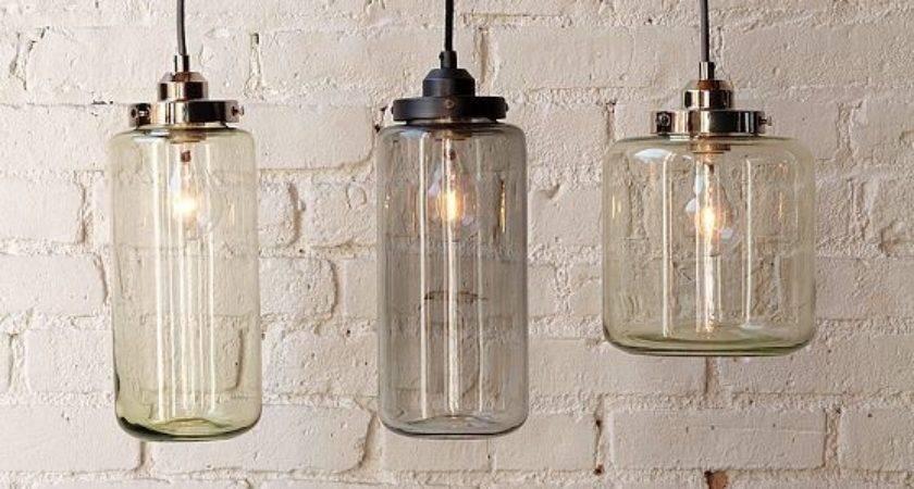 Glass Jar Pendants Contemporary Pendant Lighting