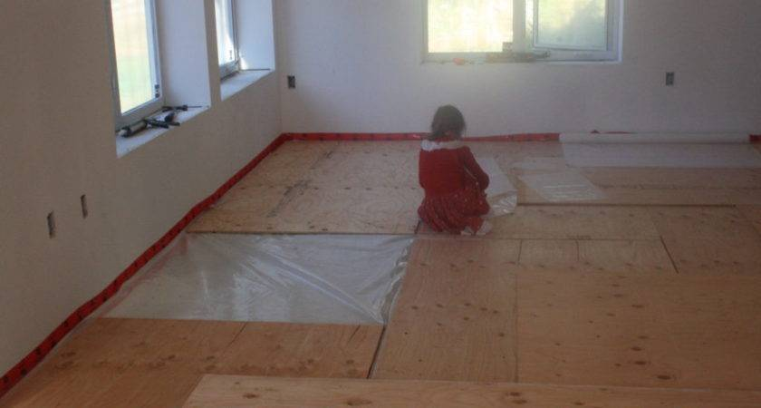 Gluing Plywood Concrete Floor Matttroy