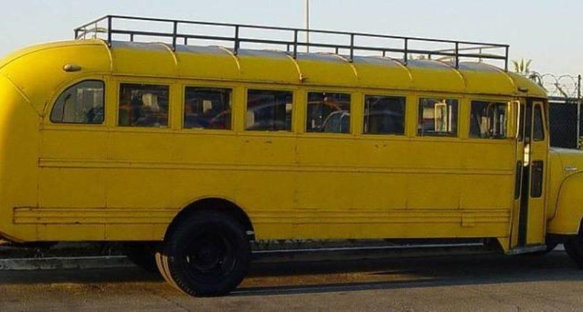 Gmc Vintage School Bus