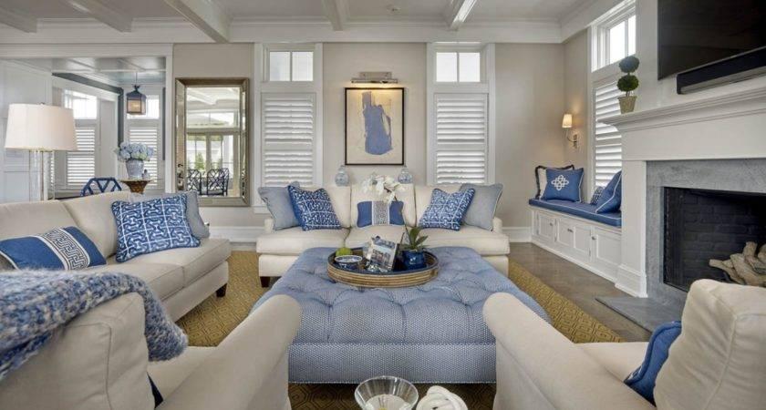 Gorgeous Coastal Living Room Decorating Ideas
