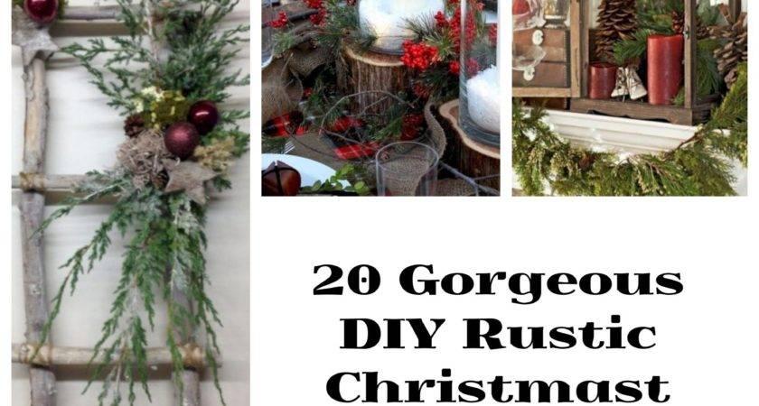 Gorgeous Diy Rustic Christmas Decor Ideas Wartaku