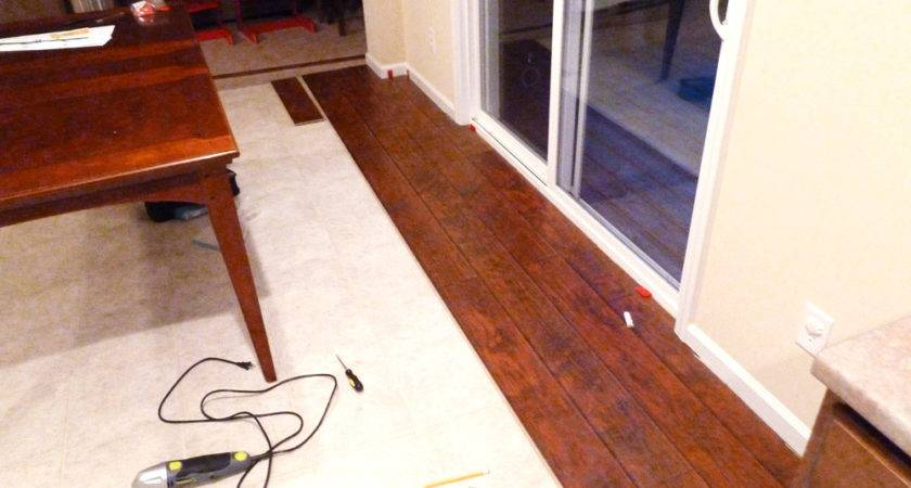 Gorgeous Laying Down Laminate Flooring Install