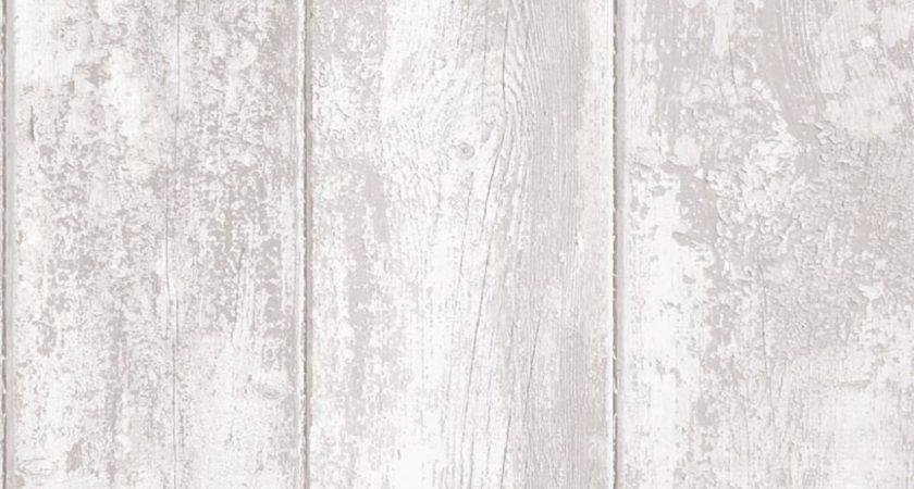 Grandeco Luxury Wood Panel Effect Vinyl Coated Textured