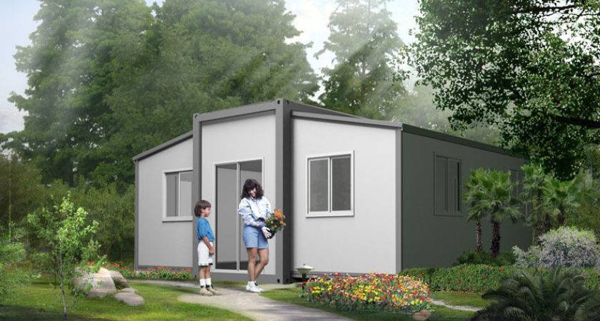 Granny Flat Expandable Bedroom Folding Home Angeli